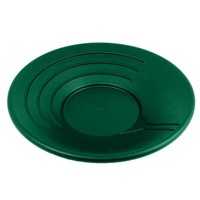 Gold Rush Gravity Trap Pan High Impact Flexible Plastic - Green 14 inch