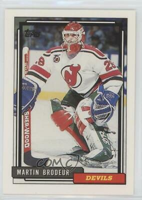 1992 93 Topps 513 Martin Brodeur New Jersey Devils Hockey Card