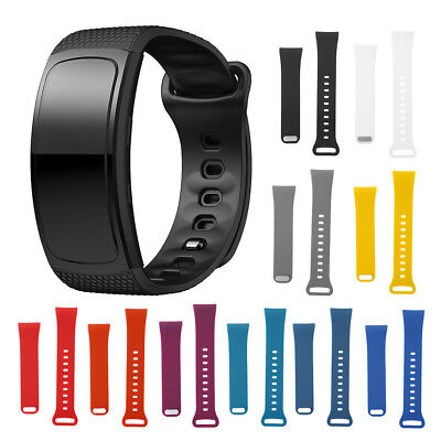 Replacement Wristband For Samsung Gear Silicone Band Fit 2 Pro Luxury Watchband