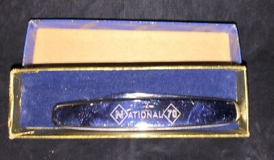 Vintage Richards Of Sheffield National 70 Dual Blade Pocket Knife Nice