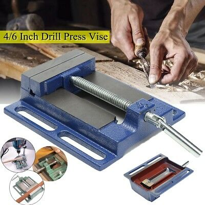 4/6'' Heavy Duty Drill Press Vice Vise Bench Clamp Woodworking Drilling Machine