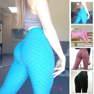 Sexy Damen PUSH UP Leggings Sport Yoga Fitness Leggins Legging Jogginghose Hose