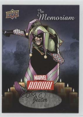 2016 Upper Deck Marvel Annual In Memoriam #IM-1 Jester Non-Sports Card 1i7