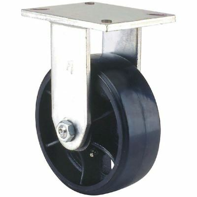 """Faultless 26640 6"""" Heavy Duty Mold-On Rubber Rigid Caster"""