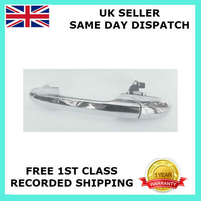 For Fiat 500 Lounge Abarth Near Side Left Chrome Door Handle 735485876 Rhd-Uk