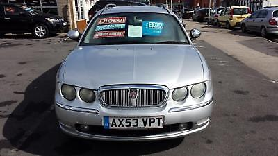 2004 ROVER 75 2.0 Diesel Club SE Estate From GBP2,195 + Retail Package