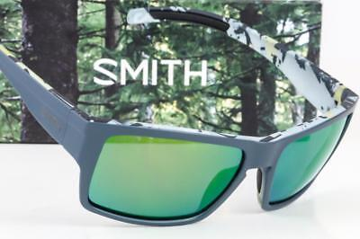 eb7539da23 NEW SMITH OUTLIER XL CHROMAPOP SUNGLASSES Matte Gray Corsair   Green Mirror  lens