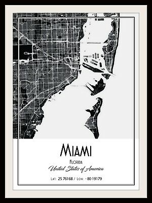 BELFAST CITY MAP POSTER PRINT MODERN CONTEMPORARY CITIES TRAVEL IKEA FRAMES