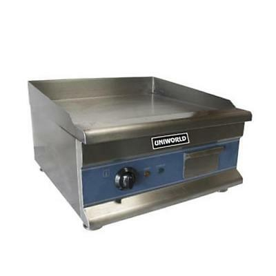 "Uniworld - UGR-CH20 - Economy 20"" Electric Countertop Griddle - Flat Top Grill"
