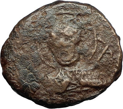 CRUSADERS of Antioch Tancred Ancient 1101AD Byzantine Time Coin St Peter i69520