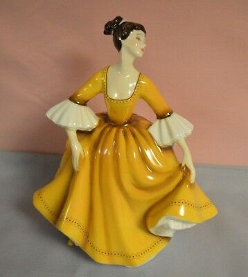 """Royal Doulton Figurine #2807 """"stephanie"""" Modeled By M. Davis In Excellent Cond."""