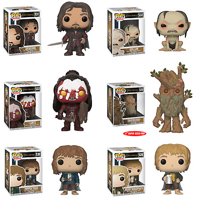 Funko Pop! Movies: The Lord Of The Rings - 528 529 530 531 532 533 (6 Pc Set)