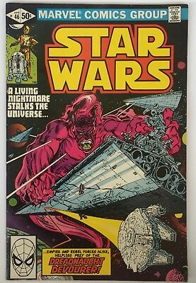 Star Wars US Marvel Comics Number 46 April 1981 Vintage