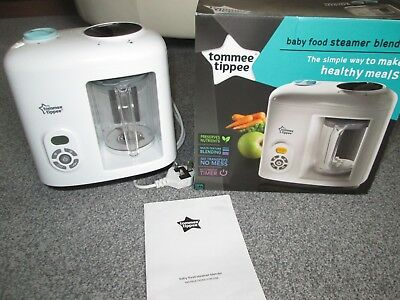 Tommee Tippee Baby Food Steamer Blender Collection