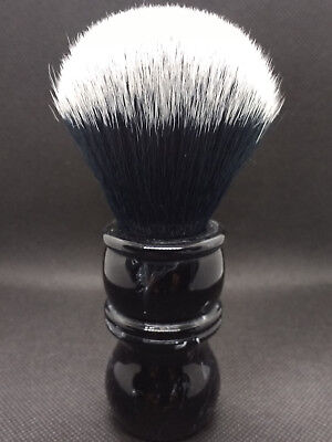yaqi 24mm Synthetic Fiber Shaving brush black marble effect handle
