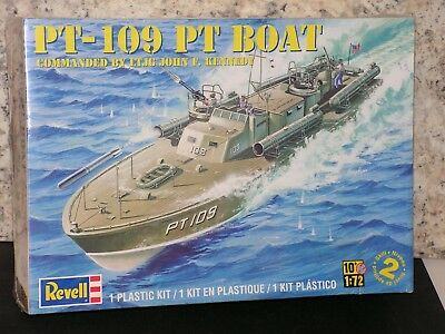 Revell #85-0310 1/72 Pt-109 Pt Boat Commanded By J F Kennedy Fs