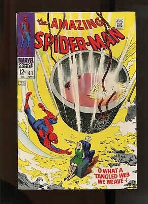 The Amazing Spider-Man #61 (7.0) 1St Gwen Stacy Cover