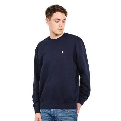 Carhartt WIP - Madison Sweat Dark Navy / Wax Pullover Rundhals