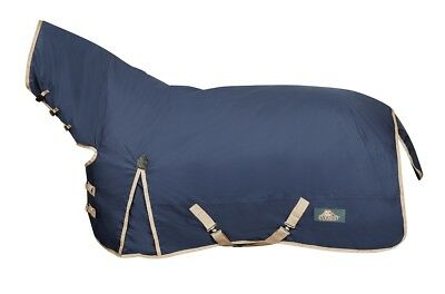 Everest 600D Combo Horse Rug Navy/taupe
