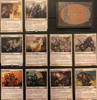 KNIGHT DECK! Ready To Play 60 Cards Mtg White