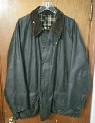 Vintage Barbour Beaufort Jacket, C50/127cm, Waxed Cotton, Good Condition