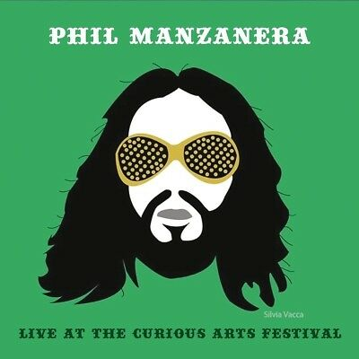 Phil Manzanera - Live At The Curious Arts Festival   Cd New+