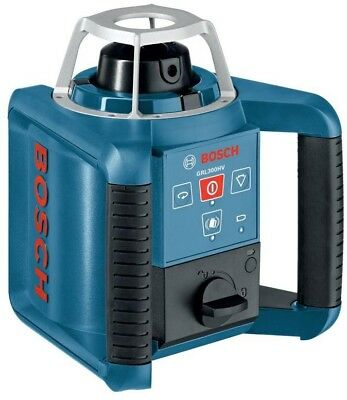 BOSCH Self Leveling Rotary Laser Level 1000 ft Horizontal Vertical Tool 6 Piece