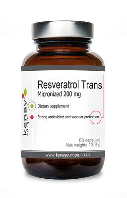 Resveratrol Trans Micronized 200 mg, 60 capsules - dietary supplement