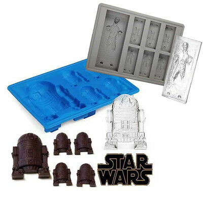 Star Wars Ice Tray Silicone Mold Ice Cube Tray Chocolate Candy Cake Baking Mould