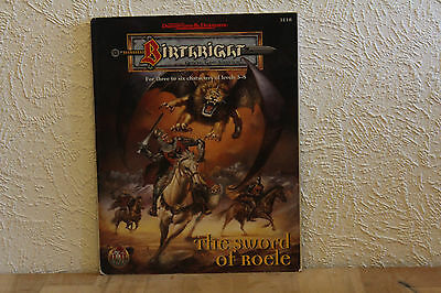 Advanced Dungeons & Dragons - Off. Adventure: Birthright - The Sword of Roele
