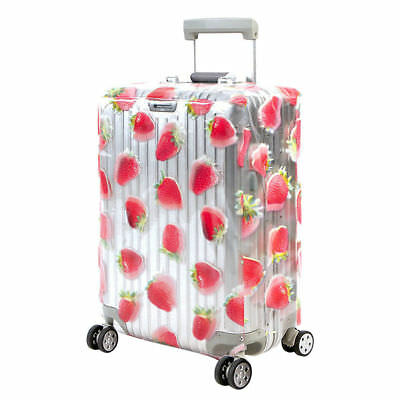 PVC Suitcase Cover Waterproof Dust-proof Travel Luggage Clear Protective Shell
