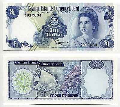 1 Dollar Cayman Islands L.1974 (1985)  unc, Pick 5d