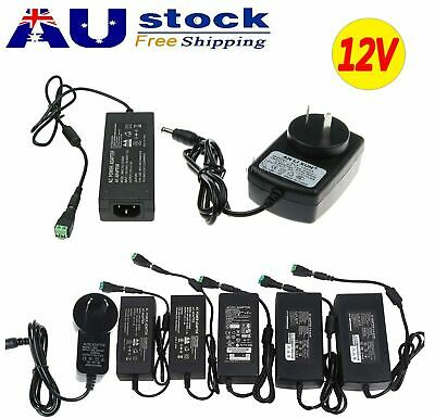 DC 12V 2A/3A/5A/6A/8A 10A Plug Power Supply Adapter Charger 3528 5050 LED Strip