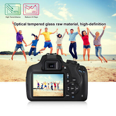 Anti-Scratch 9H Tempered Glass Screen Protector Film For Canon EOS 1200D 1300D