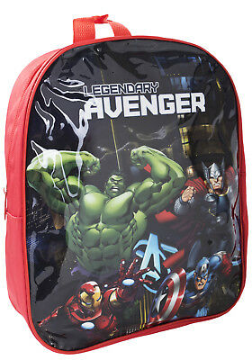 Marvel Avengers Backpack Kids School Rucksack Travel Lunch Book PE Bag Boys