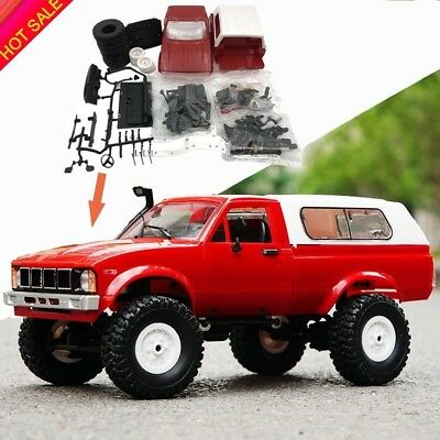 WPL C24 RC Truck Kits 4WD 1/16 Off-road Crawler Car Assemble Toy Kids DIY