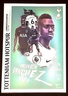 Tottenham Hotspur ( Spurs ) v Newcastle United Match Day Programme 9th May 2018