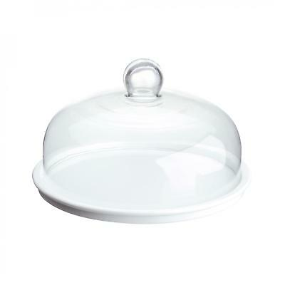 BIA International Cake Plate with Dome Complete Set - Glass Dome Belle/Cloche
