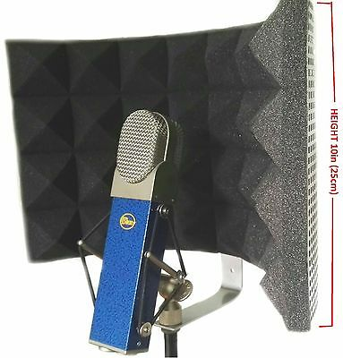 Studio Microphone Shield Diffuser Isolation Sound Absorber Foam Panel Shield Mic