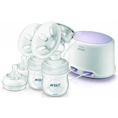 Philips AVENT Natural Twin Electric Breast Pump Set + Free Postage