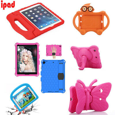 "Kids Rubber ShockProof Case EVA Safe Foam Stand Cover for iPad 7.9"" Mini 1 2 3 4"