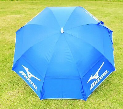 "Mizuno Staff Twin Canopy Tour 55"" Umbrella Brolly Brand New 2018 Model"