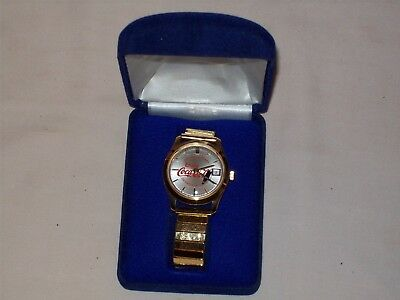 Coca Cola 75th Anniversary Men's Wristwatch NIB Never Worn 1977 Detroit Michigan