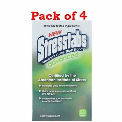 Stresstabs Advanced Tablets, 60 Ct ( Pack of 4)
