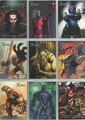 "X-Men Archives - ""Nemesis"" Set of 9 Chase Cards #N1-9"