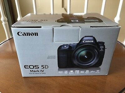 Brand New Canon EOS 5D Mark IV 30.4MP Digital SLR Camera with RODE Microphone