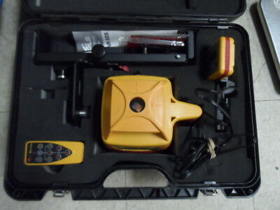 PLS HVR 505R Self Leveling Rotary Laser Kit Excellent