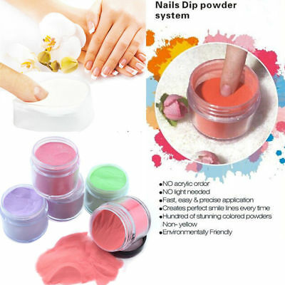 Spring Nail Dipping Powder without Lamp Cure Natural quick Dry powder Collection