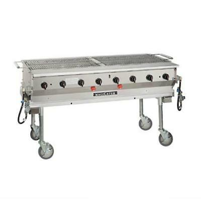 MagiKitch'n - LPG-60 - 60 in Magicater Portable Outdoor LP Charbroiler
