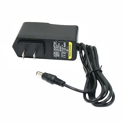 6V 1A 1000ma AC 110/220V to DC 6 Volt Power Supply Adapter 5.5mm x 2.1mm Plug